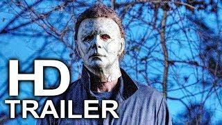 HALLOWEEN Michael Vs Laurie Fight Scene Clip + Trailer NEW (2018) Horror Movie HD