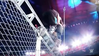 KEVIN OWENS THROWN FROM TOP OF CAGE!! WWE EXTREME RULES!