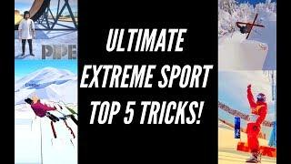 ANNOUNCING | The ULTIMATE EXTREME SPORT Top 5 Tricks!?