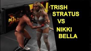 WWE 2K19 Trish Stratus vs Nikki Bella - Extreme Match