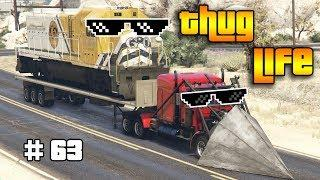 GTA 5 ONLINE : THUG LIFE AND FUNNY MOMENTS (WINS, STUNTS AND FAILS #63)