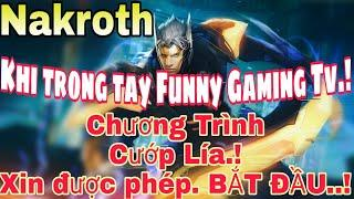 Lâm tặc Funny chơi LẦY vác Nakroth dùng Ngọc Full Tốc Độ Đánh và Build đồ Full Giáp troll team địch!