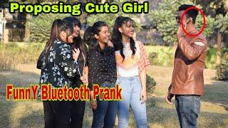 Bluetooth Prank - Proposing Cute Girls || Guwahati prank star || Prank In Assam
