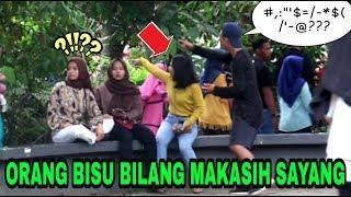 PURA-PURA BISU, NANYA TOILET KE ORANG?! PALING GOKIL HAHA - Prank Indonesia