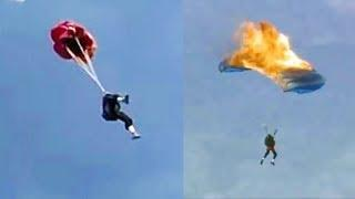 Extreme Skydiving and Parachute Fails