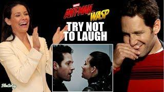 Ant-Man and The Wasp Bloopers and Funny Moments | Try Not To Laugh 2018