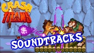 CRASH OF THE TITANS ( GBA ) - COMPLETE SOUNDTRACKS