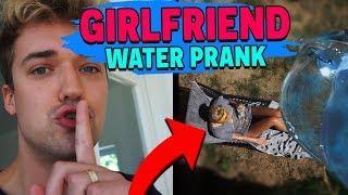 ICE WATER BUCKET PRANK ON GIRLFRIEND!!