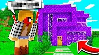 TURNING A GIRL'S HOUSE INTO PORTALS IN MINECRAFT! *PRANK*