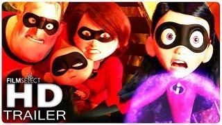 LOS INCREIBLES 2 Trailer 3 Español Latino (2018)