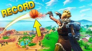 LONGEST BASKETBALL SHOT EVER *WORLD RECORD* | Fortnite Funny Moments Ep.32 (Fortnite Battle Royale)