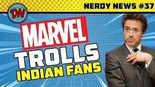 Avengers 4 Trailer Release, Russo Brothers QnA, Marvel Trolls, Hellboy| Nerdy News #37