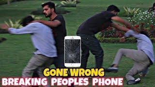 Throwing People's Mobile Phones | Gone Wrong | Prank In Pakistan