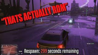 """Officer Angel Gets Taken Out by """"RDM"""" 