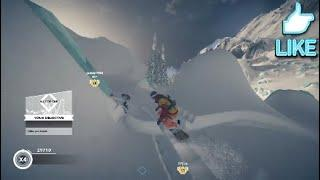 Steep amazing  winter and extreme sports