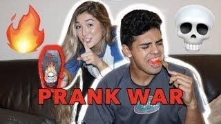 HOT SAUCE PRANK!!! ( I COOK DINNER WITH IT)