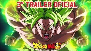 BOMBA!! 3° Trailer Oficial do Filme Dragon Ball Super (Broly)