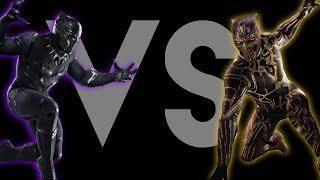 Black Panther VS Killmonger Rap Battle (Soundtrack) Prod. Caliberbeats | Daddyphatsnaps