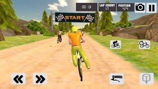 Mad Skills Dirt Track Bicycle Race- Extreme Sports - Gameplay Android game