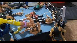 Prestons Toys Ep. 29: Extreme WWE Ring Setup w Food and Weapons