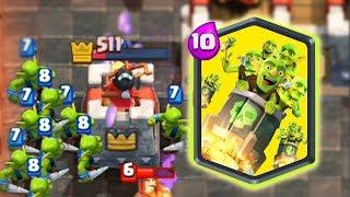 5,000 IQ TROLL GAME  - Funny Moments & Glitches & Fails   Clash Royale Montage #105