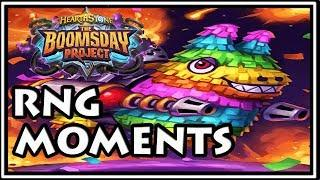Hearthstone Best of Boomsday Project RNG Moments - Funny and Lucky Top Moments