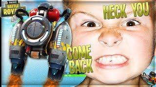 TROLLING THE MOST ANGRIEST KID WITH THE *NEW* JETPACK ON FORTNITE (Funny Fortnite Trolling)