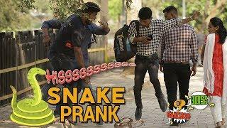 Snake Prank | Raj Khanna - Boss Of Bakchod | Pranks In India | HighIQ