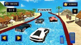 Juegos de Carros para Niños | Water Slide Sports Coches Extreme Stunts #Cars | Videos para Niños