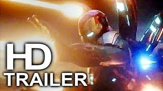 AVENGERS 4 ENDGAME Iron Man Fight Scene Trailer NEW (2019) Marvel Superhero Movie HD