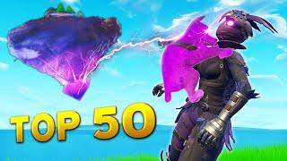 TOP 50 SEASON 6 MOMENTS! | Fortnite Funny Fails and WTF Gameplay Perfect Best Moments