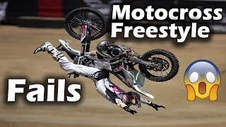 Motocross freestyle fail compilation 2018 | Motocross Crashes