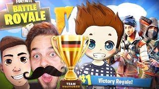 GEWONNEN gegen die BESTEN SPIELER DEUTSCHLANDS! | Fortnite Battle Royale - (Funny Moments Deutsch)