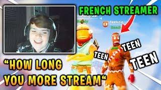 Mongraal tried to speak English with a French streamer! *FUNNY* | Fortnite Best Moments