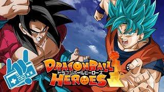 Super Dragon Ball Heroes - Goku SSJB Vs Xeno Goku SSJ4 Theme EP1 | Epic Recreation!
