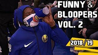 NBA Funny Moments & Bloopers of 2018/19 Season  -  Vol. 2