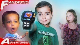 Super Power Watch! Awesome Funny Hero Watch Prank Battle!