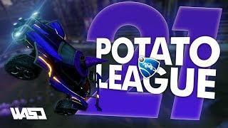 POTATO LEAGUE #21 | Rocket League Funny Moments & Fails