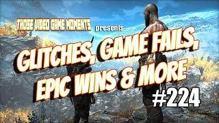 Glitches, Game Fails, Epic & Funny Gaming Moments (PUBG, FIFA 19, God of War & more!) #224 ????