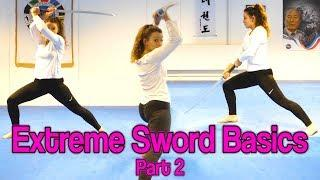 Sword Strikes & Blocks Tutorial | Extreme Sword Basics Part 2