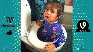 TRY NOT TO LAUGH Funny Kids and Baby Fails Compilation | Best Fails Vines of Jan 2019