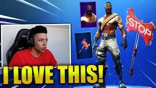 MYTH REACTS *NEW* BANDOLIER SKIN & STOP AXE - Fortnite Best & Funny Moments (Fortnite Battle Royale)