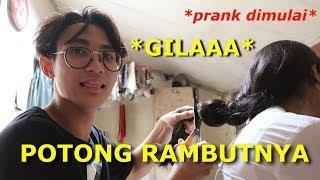 PRANK POTONG RAMBUT PACAR SAMPE NGAMUK !!! -Ronaldonald