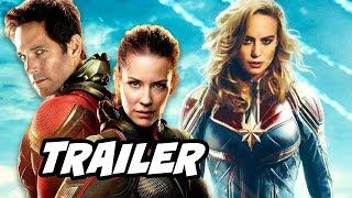Ant-Man and The Wasp Trailer 2 - New Captain Marvel Avengers Breakdown