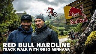 Rob Warner And Greg Minnaar Walk The Red Bull Hardline Track | Red Bull Hardline 2018