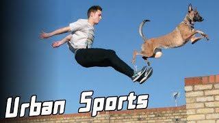 10 Extreme Urban Sports