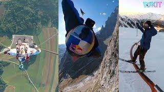 【Trend front】Super powerful extreme sports / super ability / give you a different life / Vskit video