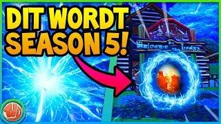 *BREAKING* DIT WORDT SEASON 5!! EPISCHE TRAILER & PORTAAL GEVONDEN!?! - Fortnite: Battle Royale