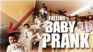 DROPPING BABY FROM BALCONY PRANK