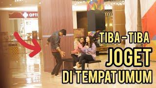 TIBA-TIBA JOGET DIDEPAN CEWEK CANTIK SAMPAI KAGET! - Prank Indonesia Jordan Nugraha